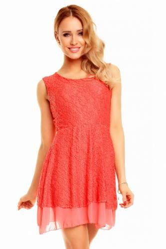 Kleid Eliane - coral