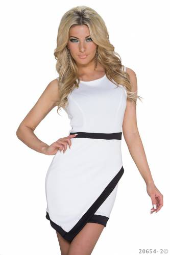 Kleid Regan - white