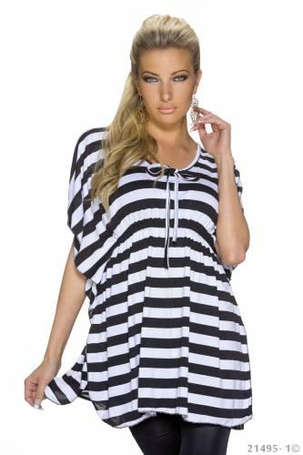 Longshirt Renia - black
