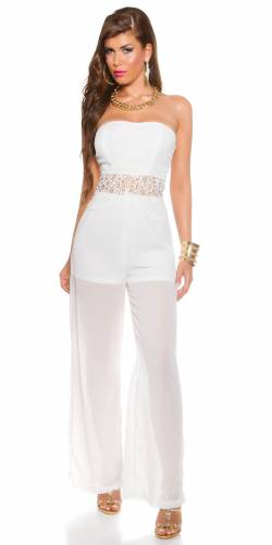 Bandeau-Overall - white