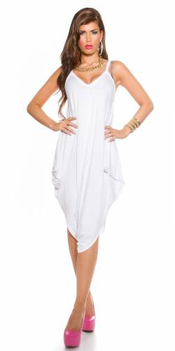 Pump Overall - white