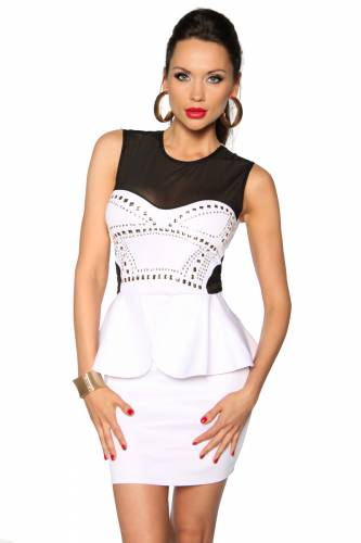 Kleid - blanc