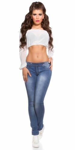 Jeans Zip - blue