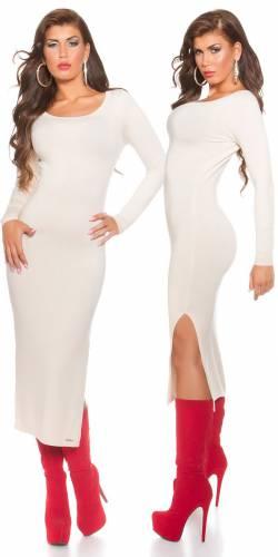 Kleid - beige