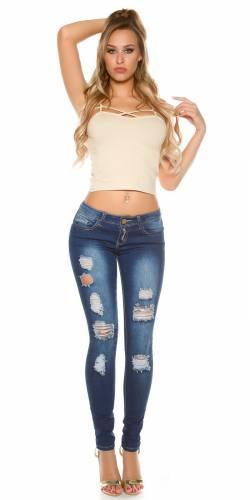 Skinny Jeans Used - blue