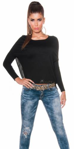 HighLow Pulli - black