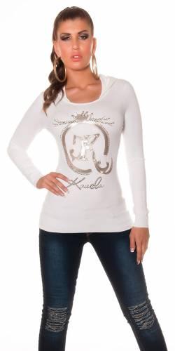 Pullover Gioia - white