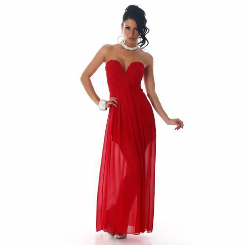 Abendkleid Larena - red