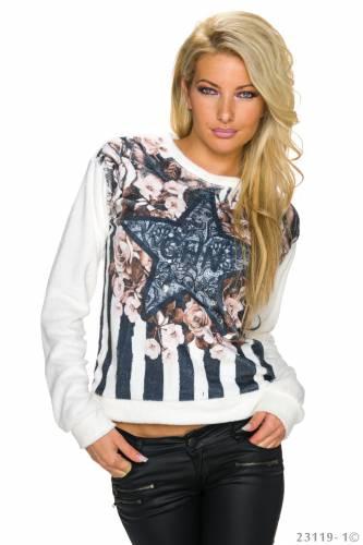 Pullover Liesa - white