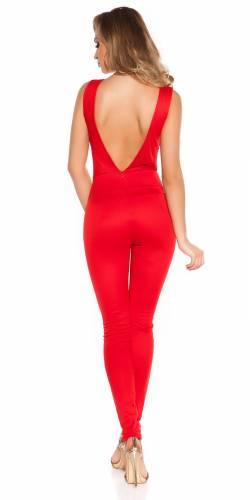Koucla Overall - red
