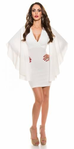 Etui Kleid - white