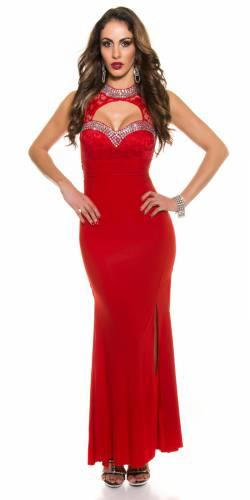 Abendkleid - red