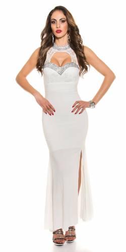 Abendkleid Pelin - white
