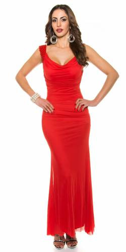 Abendkleid Peggy - red