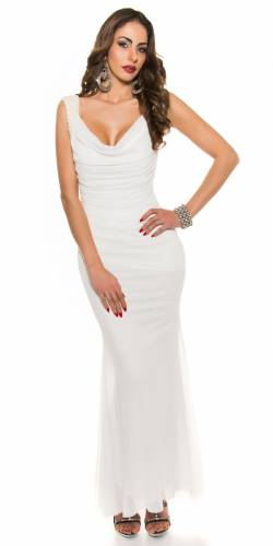 Abendkleid Peggy - white