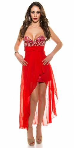 Cocktail Kleid - red