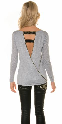 Wickellook Pulli - grey