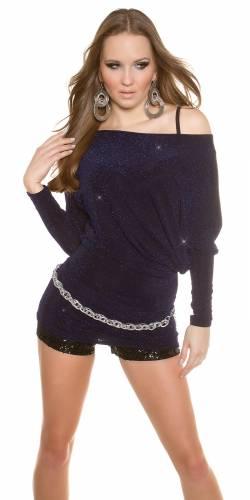 Party LongShirt - dark blue