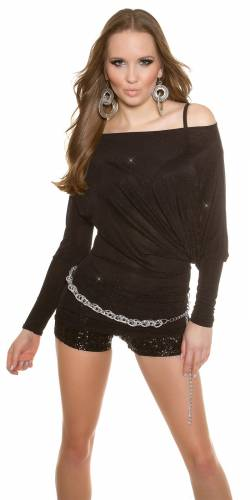 Party LongShirt - black