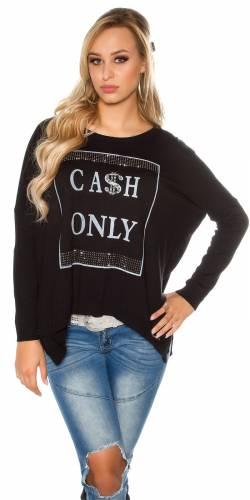 Pullover Cash - black