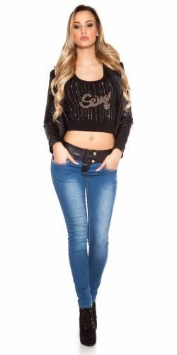 Skinny-Jeans - blue