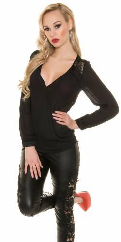 Bluse Ailisa - black