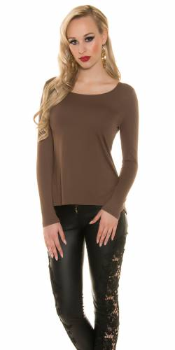 Spitze Shirt - brown