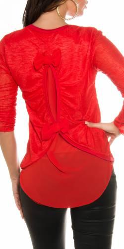 Shirt Anna - red