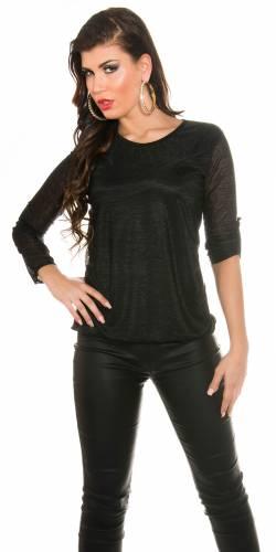 Shirt Anna - black