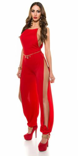 Overall - red