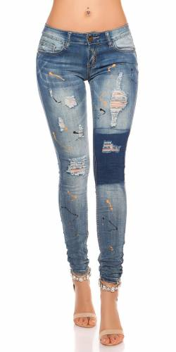 PuSH UP Jeans - blue