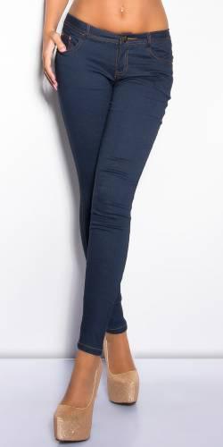 Skinny Jeggings - dark blue