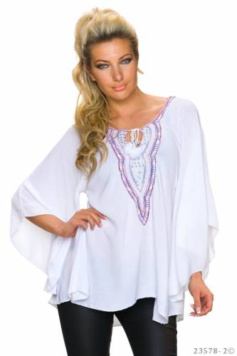 Tunika Bluse - white