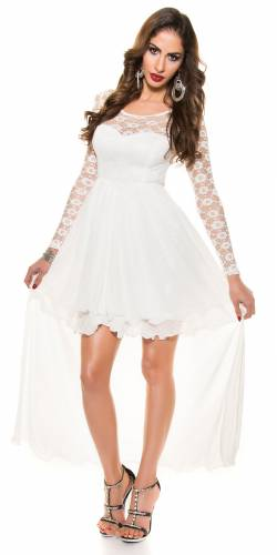Abendkleid Delia - white