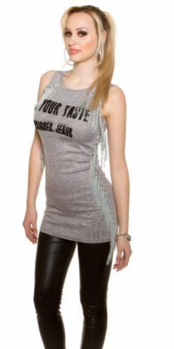 Ripp Longshirt - grey