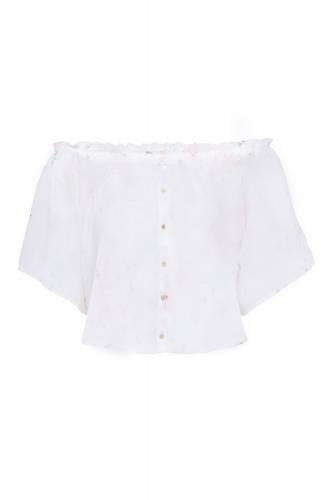 Bluse Top - white