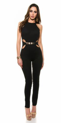 Skinny Overall - black