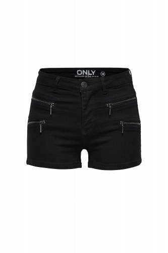 Zip Shorts - black
