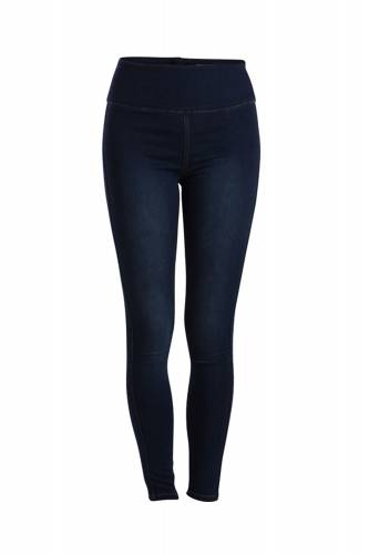 Denim Jeggings - dark blue