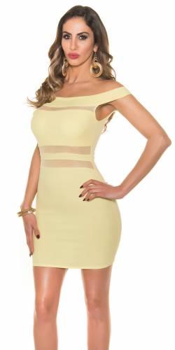 Kleid - yellow