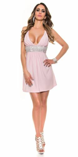 Party Kleid - rose