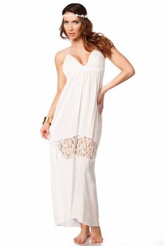 Sommerkleid - white