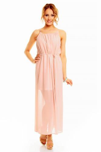 Long Kleid - rose