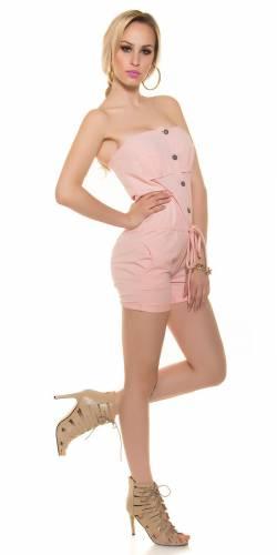 Bandeau Jumpsuit - rose