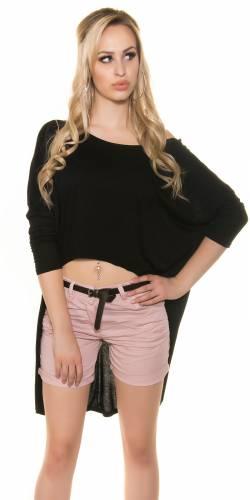 KouCla Crop Shirt - black