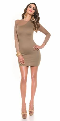 Kleid - brown