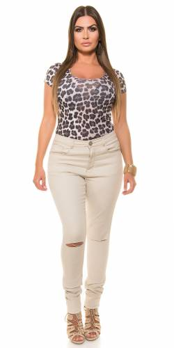 Skinny Jeans - beige