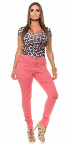 Skinny Jeans - coral