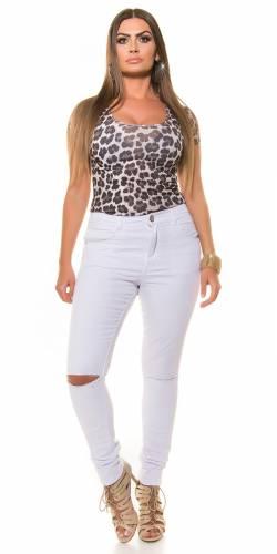 Skinny Jeans - white