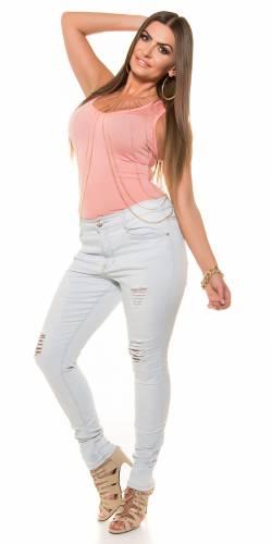 Skinny Jeans - pale blue
